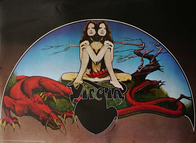 Psychédélisme Virgin-By-Roger-Dean-1972-60x84-