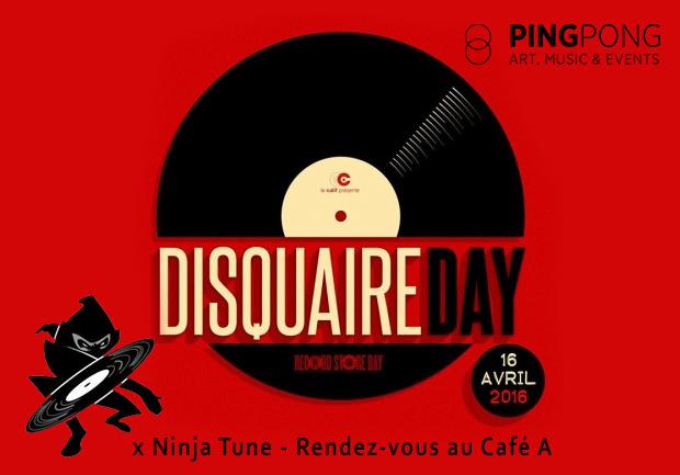 NinjaTune x Disquaire Day