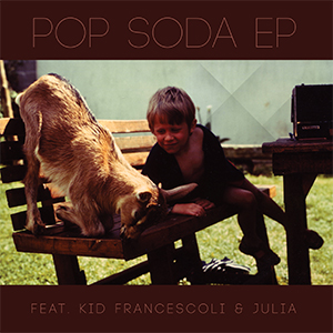 Pop Soda EP - Artwork (c) François Vantillard